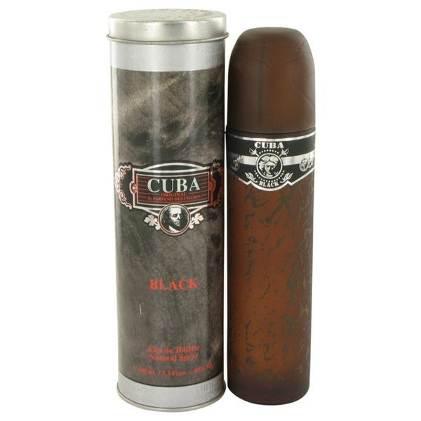 Cuba Black Men's 3.3-ounce Eau de Toillette Spray