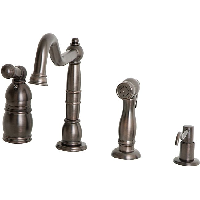 Giagni Traditional Vintage Bronze Kitchen Faucet w/spray