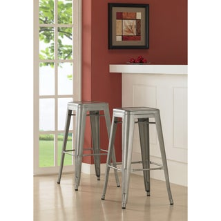 Tabouret 30-inch Metal Barstools (Set of 2)