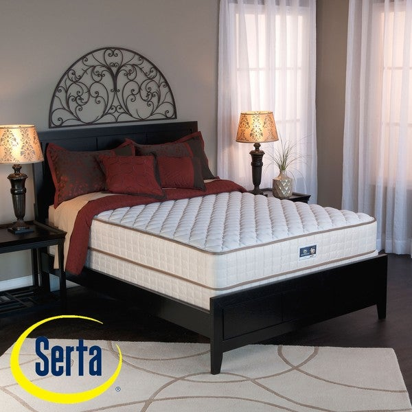 Serta Cromwell Firm Full-size Mattress and Box Spring Set