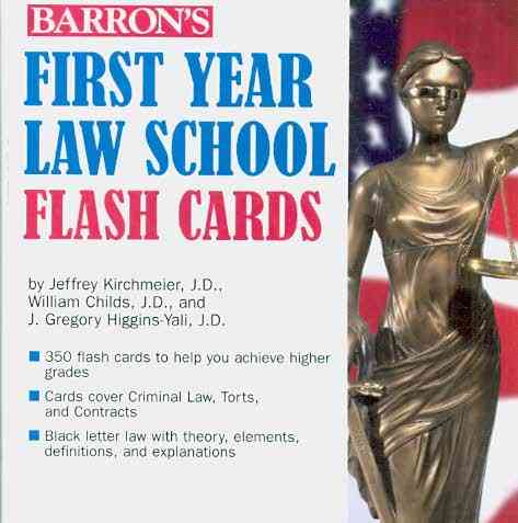Barron's First Year Law Flash Cards (Cards)