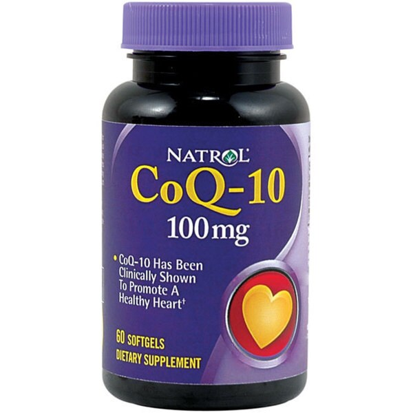 Natrol CoQ-10 100mg Tablets (Bottle of 60)