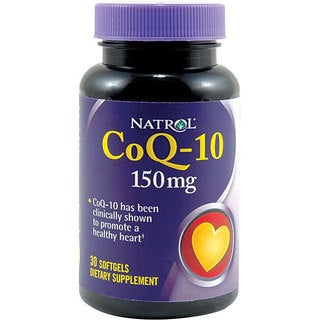 Natrol CoQ-10 150mg Pills (Pack of 2 30-count Bottles)