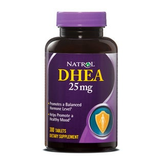 Natrol DHEA 25mg Pills (600 Count) (Pack of 2)