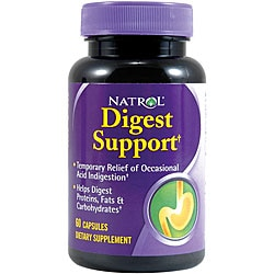 Natrol Digest Support Capsules (Pack of 4 60-count Bottles)