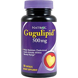 Natrol Gugulipid 500 mg Supplements (Pack of 2 100-count Bottles )