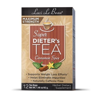 Natrol Laci Super Dieter's Cinnamon Spice Tea (Pack of 6)
