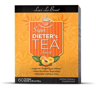 Natrol Laci Apricot Super Dieter's Tea (Pack of 3)