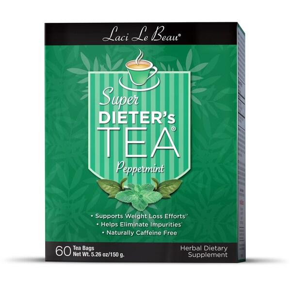 Natrol Laci Peppermint Super Dieter's Tea (Pack of 3)