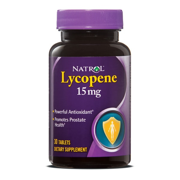 Natrol Lycopene 15mg Pills (Pack of 3 30-count Bottles)