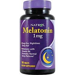 Natrol Melatonin 1mg Pills (Pack of 3 180-count Bottles)
