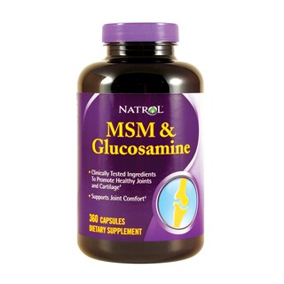 Natrol 360-Cap MSM and Glucosamine (Pack of 2)