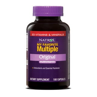 Natrol My Favorite Multiple Capsules (Pack of 2 180-count Bottles)