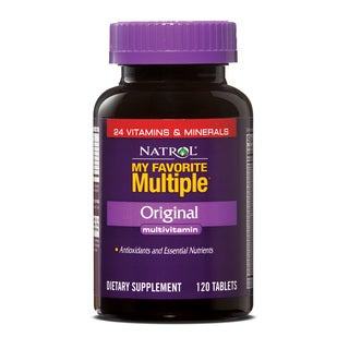 Natrol My Favorite Multiple (Pack of 2 120-count Bottles)