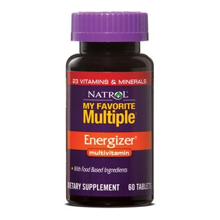 Natrol My Favorite Multiple Energizer Multivitamin (Pack of 3 60-count Bottles)