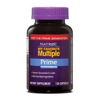 Natrol My Favorite Multiple Prime Vitamins (Pack of 2 120-count Bottles)