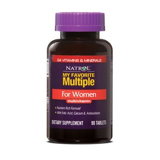 Natrol My Favorite Women's Multiple Supplement (Pack of 3 90-count Bottles)