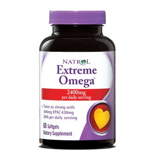 Natrol 60-count Extreme Omega Fish Oil (Pack of 3)