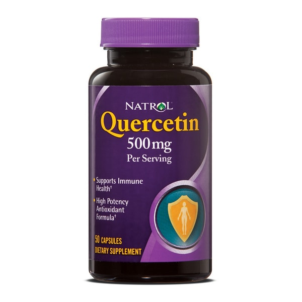 Natrol Quercetin 250 mg 50-count Bottle (Pack of 4)