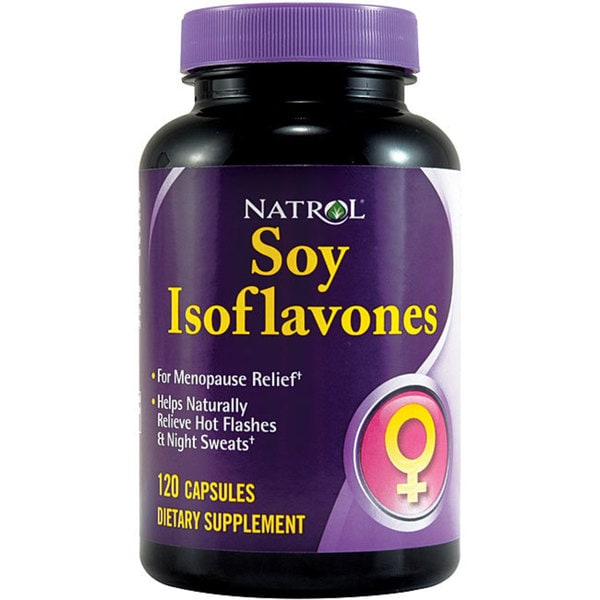 Natrol Women's Soy Isoflavones 40 mg Pills (Pack of 3 120-count Bottles)