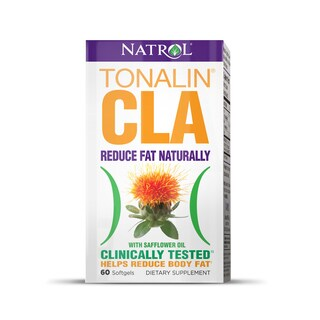 Natrol Tonalin CLA Softgels (Pack of 2 60-count Bottles)