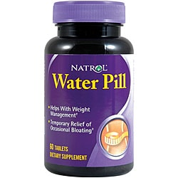 Natrol Water Pill Tablets (Pack of 4 60-count Bottles)