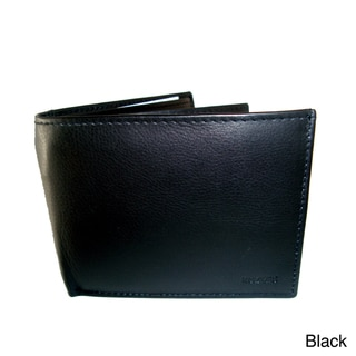 Kozmic Men's Leather Bi-fold Wallet