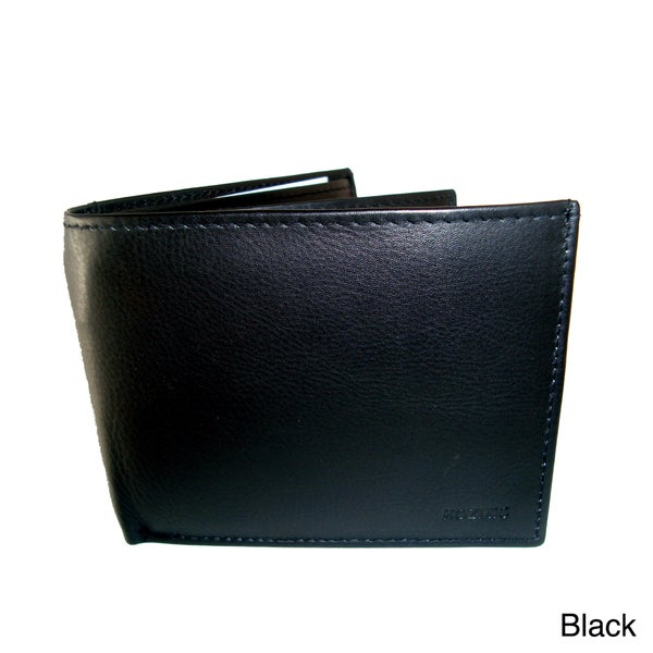 Kozmic Men's Leather Bi-fold Wallet