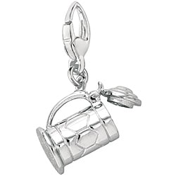 Sterling Silver Beer Stein Charm