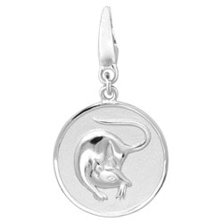 Sterling Silver 'Rat' Charm