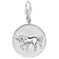 Sterling Silver 'Horse' Charm