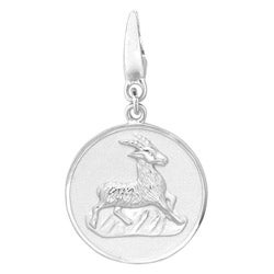 Sterling Silver Goat Charm