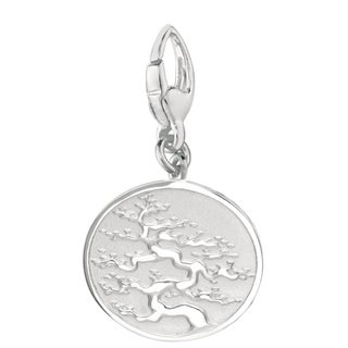 Sterling Silver Bonsai Charm