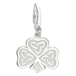 Sterling Silver Celtic Clover Charm