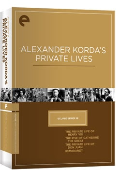 Eclipse Series 16: Alexander Korda's Private Lives (DVD)