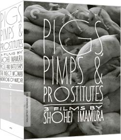 Pigs, Pimps, And Prostitutes: 3 Films By Shohei Imamura Box Set - Criterion Collection (DVD)