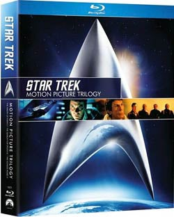 Star Trek: Motion Picture Trilogy (Blu-ray Disc)