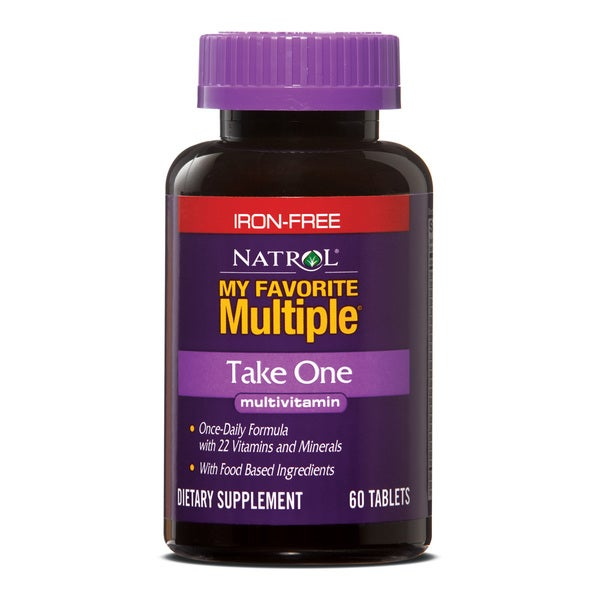 Natrol My Favorite Multiple Take One Multivitamin without Iron (180 count)