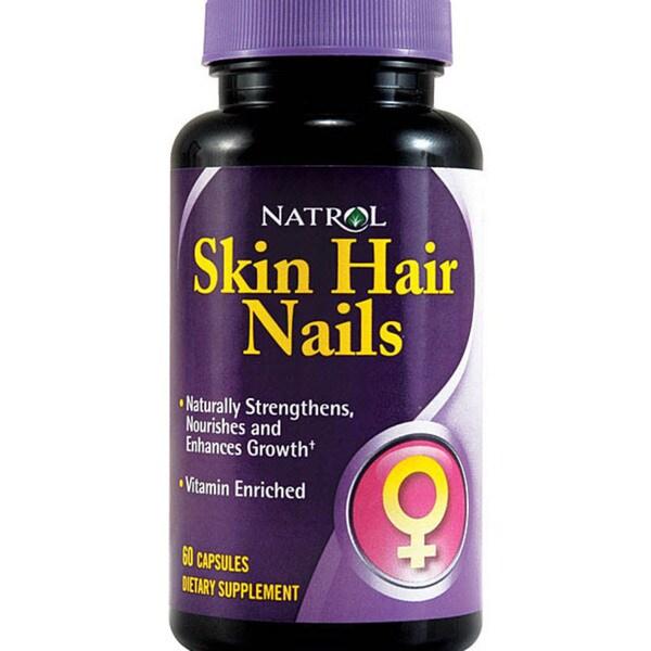 Natrol Women's 'Skin Hair Nails' 60-tablet Bottles (Pack of 3)