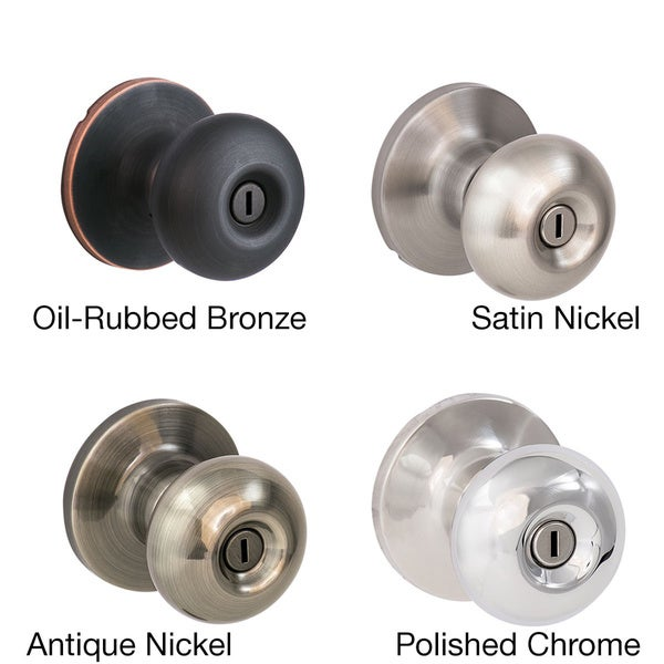 Sure-Loc Mushroom-shaped Privacy Door Knob (2 complete sets)