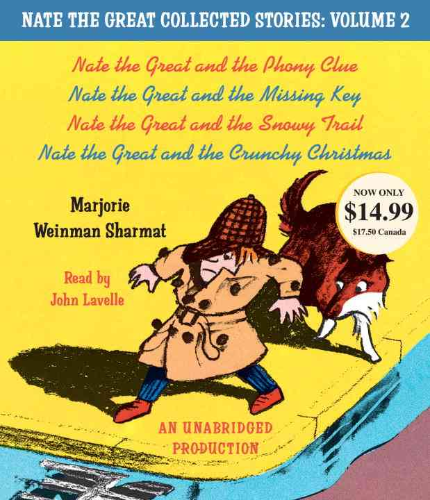 Nate the Great Collected Stories: Nate the Great and the Phony Clue; Nate the Great and the Missing Key; Nate the ... (CD-Audio)
