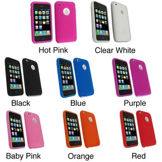 Textured  Silicone Skin Case for Apple iPhone