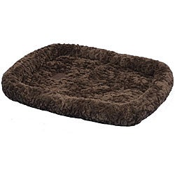 SnooZZy Chocolate Cozy Crate Pet Bed 1000 (18 in. x 14 in.)