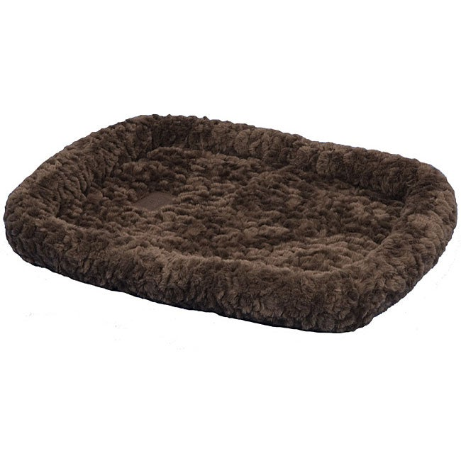 SnooZZy Chocolate Cozy Crate Bed 5000 (45 in. x 32 in.)