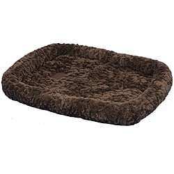 SnooZZy Chocolate Cozy Plush Portable Crate Bed 6000 (51 x 33)