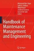 Handbook of Maintenance Management and Engineering (Hardcover)