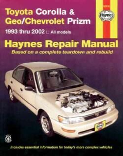 Toyota Corolla and Geo/Chev Prizm Auto Repair Manual 93-02 (Paperback)