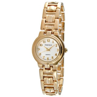 Timetech Women's Goldtone Bracelet Watch