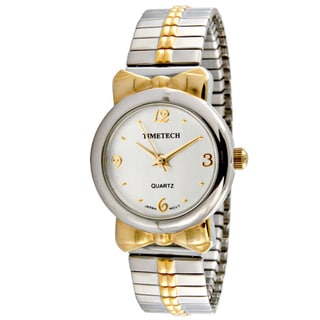 Timetech Women's Two-tone Expansion Watch