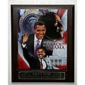 Barack Obama Picture Plaque
